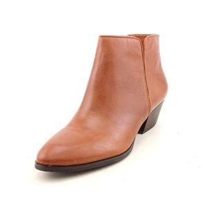 Franco Sarto Quasar Cognac Ankle Booties 10M